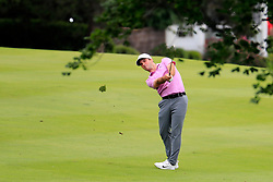 June 24, 2018 - Cromwell, CT, U.S. - CROMWELL, CT - JUNE 24: Denny McCarthy of the United States hits from the 3rd fairway during the Final Round of the Travelers Championship on June 24, 2018 at TPC River Highlands in Cromwell, Connecticut. (Photo by Fred Kfoury III/Icon Sportswire) (Credit Image: © Fred Kfoury Iii/Icon SMI via ZUMA Press)