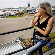 Camping in the Michigan International Speedway infield