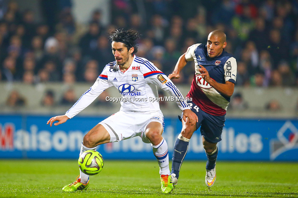 Milan Bisevac  - 21.12.2014 - Bordeaux / Lyon - 19eme journee de Ligue 1 -<br /> Photo : Manuel Blondeau / Icon Sport