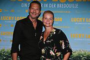 Kai Wiesinger und Annette Frier bei der Premiere von Lucky Loser in der Kulturbrauerei in Berlin / 100817