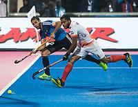 BHUBANESWAR -  Hockey World League finals , Semi Final . Argentina v India. Matias Paredes (Arg)   COPYRIGHT KOEN SUYK