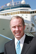 Celebrity Eclipse, the new cruise ship from Celebrity Cruises arrives in Southampton..Dan Hanrahan, President and CEO of Celebrity Cruises.