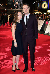 Shauna Robertson and Edward Norton attending the European premiere of Collateral Beauty, held at the Vue Leicester Square, London.
