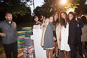 ABDULLAH AL TURKI; ALAA AL SHROOGI; SHARIFA AL SUDARI; PRINCESS ALIA AL SENUSSI, SANDRA SORIANO, The Serpentine Contempories party. Kensington Gdns. 16 September 2013