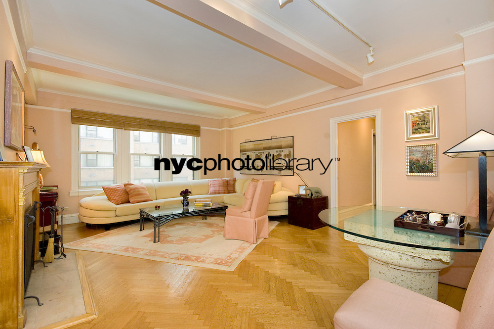 Living Room at 410 East 57th Street