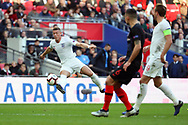 England's Ross Barkley controlling the ball during the UEFA Nations League match between England and Croatia at Wembley Stadium, London, England on 18 November 2018.