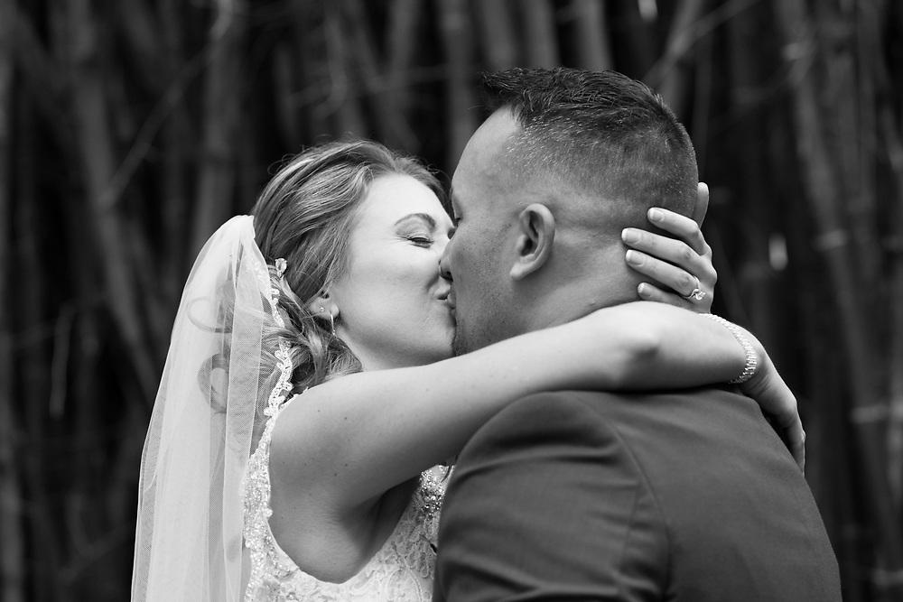 Prem Paul Murrhee and Danielle Eddy  marry at Kanapaha Botanical Gardens in Gainesville, Florid.a