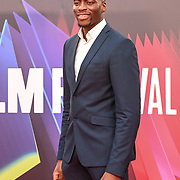Influencer and former athlete Jesse Chuku attended King Richard | BFI London Film Festival 2021, 15 October 2021 Southbank Centre, Royal Festival Hall, London, UK.