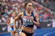 Diane Marie-Hardy (FRA) competes in Heptathlon during the European Championships 2018, at Olympic Stadium in Berlin, Germany, Day 4, on August 10, 2018 - Photo Photo Julien Crosnier / KMSP / ProSportsImages / DPPI