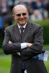 Owner Michael Tabor during day two of the Dubai Future Champions Festival at Newmarket Racecourse, Newmarket. PRESS ASSOCIATION Photo. Picture date: Saturday October 14, 2017. See PA story RACING Newmarket. Photo credit should read: Julian Herbert/PA Wire.