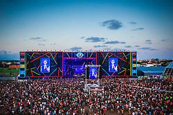Roda Gigante durante a 25ª edição do Planeta Atlântida. O maior festival de música do Sul do Brasil ocorre nos dias 31 Janeiro e 01 de fevereiro, na SABA, praia de Atlântida, no Litoral Norte do Rio Grande do Sul. FOTO: <br /> Diego Vara/ Agência Preview