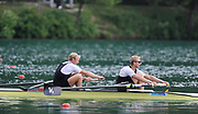 Bled, SLOVENIA,  NZL M2- Bow. Eric MURRAY and Hamish BOND, during the semi final of the 1st FISA World Cup. Second day. Rowing Course. Lake Bled.  Saturday  29/05/2010  [Mandatory Credit Peter Spurrier/ Intersport Images]