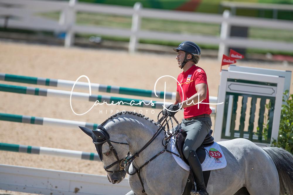 Menendez Mieres Gerardo, ESP, Cassino<br /> Olympic Games Rio 2016<br /> © Hippo Foto - Dirk Caremans<br /> 13/08/16