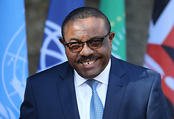 27.05.2017, Taormina, ITA, 43. G7 Gipfel in Taormina, im Bild Hailemariam Desalegn - Ministerpräsident von Äthiopien // Hailemariam Desalegn - Prime Minister of Ethiopia during the 43rd G7 summit in Taormina, Italy on 2017/05/27. EXPA Pictures © 2017, PhotoCredit: EXPA/ SM<br /> <br /> *****ATTENTION - OUT of GER*****