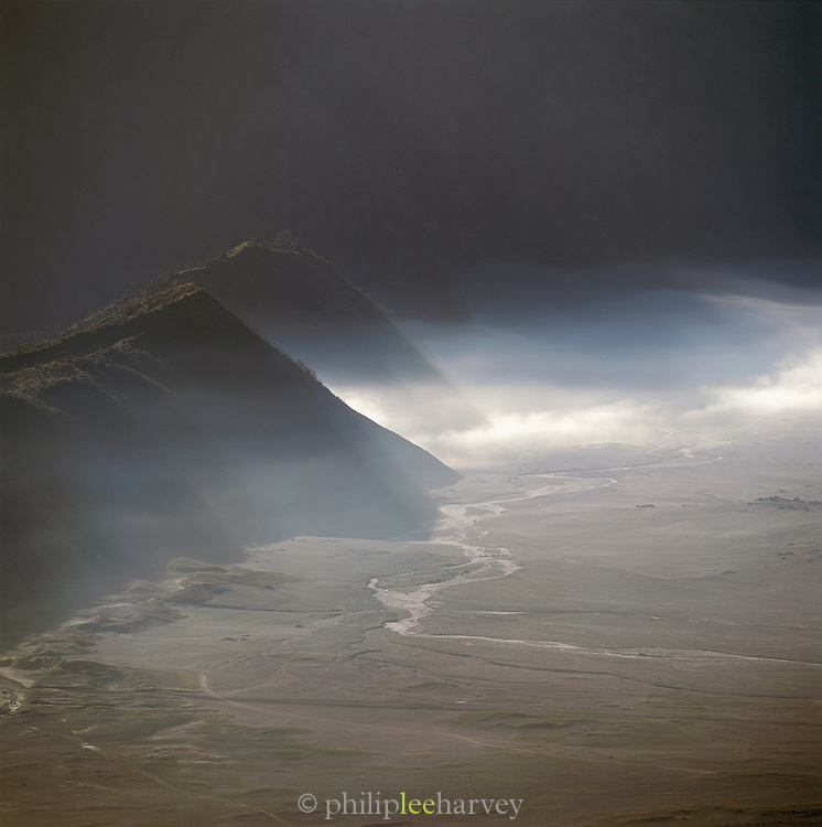 View from Mt. Bromo, Java, Indonesia.