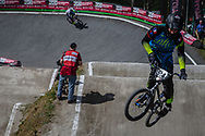 #514 (TOURNEBIZE Tristan) FRA during round 4 of the 2017 UCI BMX  Supercross World Cup in Zolder, Belgium.
