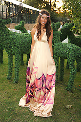 YAEL TORM-HIBLER at the Royal Parks Foundation Summer Party hosted by Candy & Candy on the banks of the Serpentine, Hyde Park, London on 10th September 2008.
