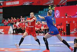KOLDING, DENMARK - DECEMBER 5: Aleksandra Rosiak during the EHF Euro 2020 Group D match between Poland and Romania in Sydbank Arena, Kolding, Denmark on December 5, 2020. Photo Credit: Allan Jensen/EVENTMEDIA.