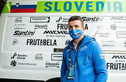 Ales Kalan of Team Slovenia prior to the Men Elite Road Race at UCI Road World Championship 2020, on September 27, 2020 in Imola, Italy. Photo by Vid Ponikvar / Sportida