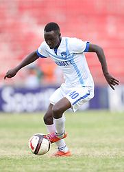 Boniface Akenga of Nakumatt FC in action against Gor Mahia FC during their Sportpesa Premier League tie at Nyayo Stadium in Nairobi on July 30, 2017. Gor won 2-0. Photo/Fredrick Omondi/www.pic-centre.com(KENYA)