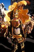 BOLIVIA, LA PAZ, FESTIVALS dancers in Fiesta del Gran Poder