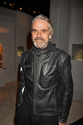 Jeremy Irons at the 2017 PAD Collector's Preview, Berkeley Square, London, England. 02 October 2017.