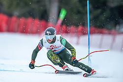 14.02.2020, Zwölferkogel, Saalbach Hinterglemm, AUT, FIS Weltcup Ski Alpin, Super G, Herren, im Bild Ryan Cochran-Siegle (USA) // Ryan Cochran-Siegle of the USA in action during his run for the men's SuperG of FIS Ski Alpine World Cup at the Zwölferkogel in Saalbach Hinterglemm, Austria on 2020/02/14. EXPA Pictures © 2020, PhotoCredit: EXPA/ Johann Groder