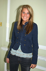 MISS VICTORIA VON WESTENHOLTZ at the AJM International Publishing Party to celebrate 4 years as publishers of PrivatAir Magazine and the Cartier International Polo Magazine held at Rooms Eleven, 11 Grosvenor Place, London on 24th May 2005.<br />