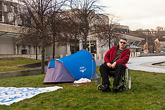 Holyrood Hunger Strike | Edinburgh | 11 December 2017