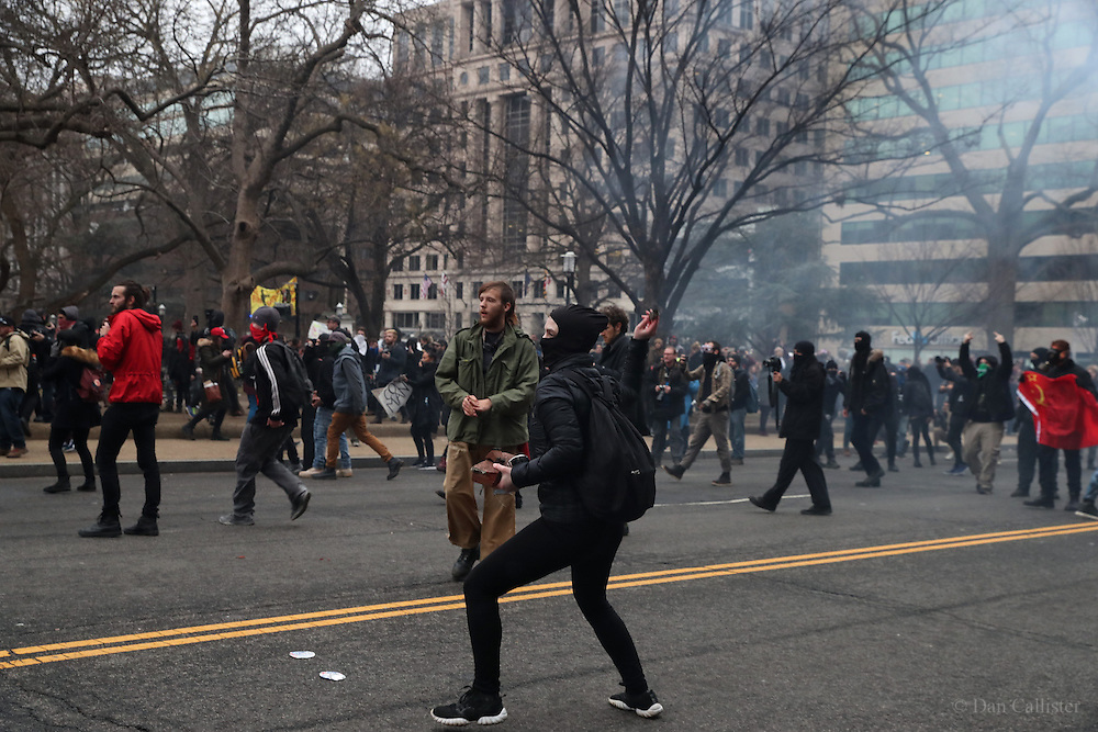 Photograph by © Dan Callister <br /> www.dancallister.com<br /> Donald Trump will be sworn in as the 45th president of the United States January 17th 2017 in Washington DC, USA<br /> Picture shows demonstrators outside the inauguration<br /> [Non-Exclusive]<br /> [ Pictures]<br /> **© DAN CALLISTER. FEE MUST BE AGREED BEFORE USAGE. NO WEB USAGE WITHOUT APPROVAL. ALL RIGHTS RESERVED** <br /> Tel: +1 347 649 1755<br /> Mob: +1 917 589 4976<br /> E-mail: dan@dancallister.com<br /> Web:  www.dancallister.com<br /> 3149 41st St, #3rd Floor, Astoria, NY 11103 USA<br /> Photograph by © DAN CALLISTER  www.dancallister.com