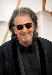 Al Pacino at the 92nd Academy Awards held at the Dolby Theatre in Hollywood, USA on February 9, 2020.