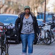 NLD/Amsterdam/20130415 - Edsilia Rombley, 5 maanden zwanger