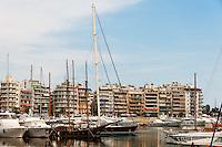 Piraeus, Greece. The Marina and seafront.