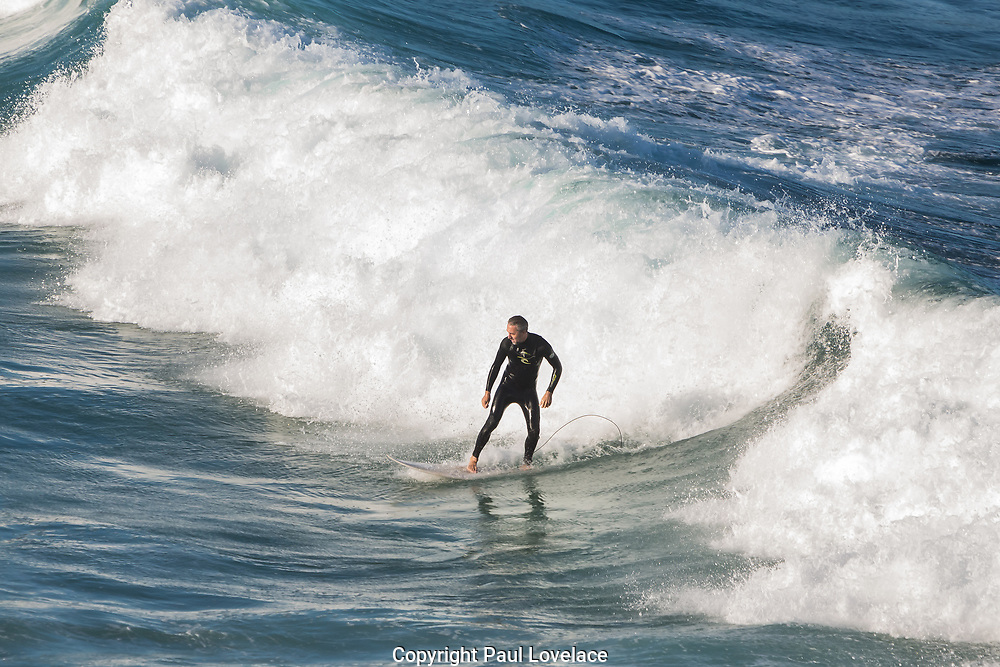 Sydney, Australia. Sunday 3rd May 2020. Surfers at Bronte Beach in Sydney's eastern suburbs.The beach is now open to surfers and swimmers but no sitting or sunbathing  is allowed due to the COVID-19 pandemic.