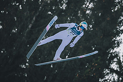 15.02.2020, Kulm, Bad Mitterndorf, AUT, FIS Ski Flug Weltcup, Kulm, Herren, im Bild Antti Aalto (FIN) // Antti Aalto of Finland during his Jump for the men's FIS Ski Flying World Cup at the Kulm in Bad Mitterndorf, Austria on 2020/02/15. EXPA Pictures © 2020, PhotoCredit: EXPA/ Dominik Angerer