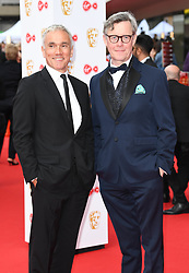 Ben Miles and Alex Jennings attending the Virgin TV British Academy (BAFTA) Television Awards held at the Royal Festival Hall, Southbank, London. Photo credit should read: Doug Peters/ EMPICS Entertainment