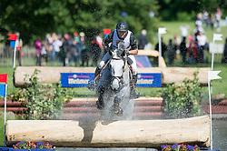 Vanhouche Giel (BEL) - Figaro de Verby <br /> Cross country<br /> CCI3*  Luhmuhlen 2014 <br /> © Hippo Foto - Jon Stroud