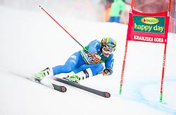 Roberto Nani of Italy competes during 1st run of Men's GiantSlalom race of FIS Alpine Ski World Cup 57th Vitranc Cup 2018, on March 3, 2018 in Kranjska Gora, Slovenia. Photo by Ziga Zupan / Sportida