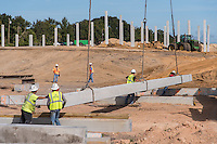 SR429 construction with cranes in Apopka Florida by Jeffrey Sauers of Commercial Photographics, Architectural Photo Artistry in Washington DC, Virginia to Florida and PA to New England