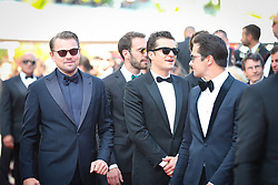 Orlando Bloom, Leonardo DiCaprio and Alejandro Agag attend the screening of The Traitor during the 72nd annual Cannes Film Festival on May 23, 2019 in Cannes, France. Photo by Shootpix/ABACAPRESS.COM