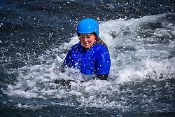 18MAY21 Mollie Hughes. Matt out with Mollie Hughes,  Coasteering with Ocean Vertical at Dunbar.