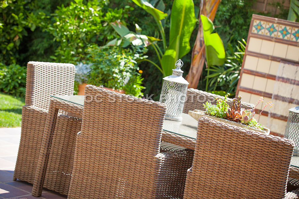 Rattan Dining Outdoor Patio Furniture