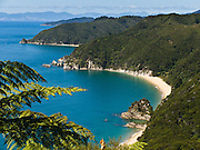 """Mutton Cove, Abel Tasman National Park, South Island, New Zealand. Published in """"Light Travel: Photography on the Go"""" by Tom Dempsey 2009, 2010."""