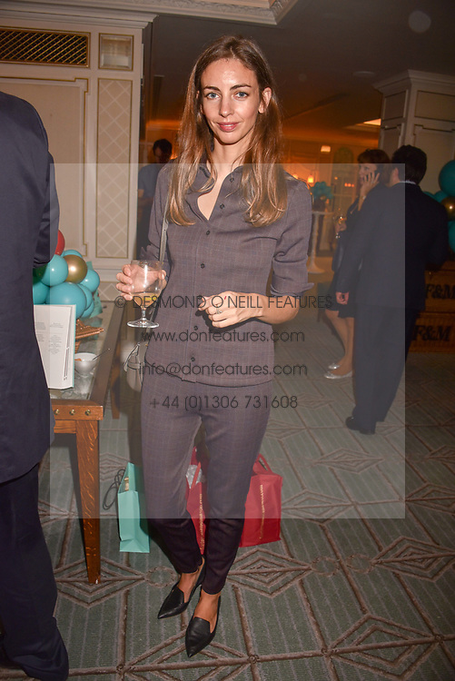 The Marchioness of Cholmondeley at the launch of the Fortnum & Mason Christmas & Other Winter Feasts Cook Book by Tom Parker Bowles held at Fortnum & Mason, 181 Piccadilly, London, England. 17 October 2018.