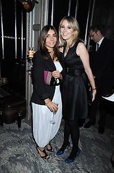 Left to right, VASSI CHAMBERLAIN and TICKY HEDLEY-DENT at a party for Yves Saint Laurent's Creative Director Stefano Pilati given by Colin McDowell held at The Connaught Bar, The Connaught, Mount Street, London on 29th October 2008.