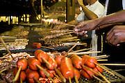 Belo Horizonte_MG, Brasil...Churrasco de uma festa junina...Barbeques of June party...Foto: VICTOR SCHWANER / NITRO
