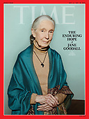 September 30, 2021 - WORLDWIDE: Jane Goodall Covers Time Magazine Double Issue