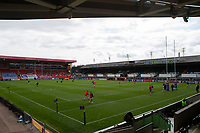 Rugby Union - 2020 / 2021 ER Challenge Cup - Quarter-Final - Leicester Tigers  vs Newcastle Falcons - Welford Road<br /> <br /> A general view of the Mattioli Woods stadium<br /> <br /> Credit : COLORSPORT/BRUCE WHITE