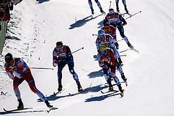 February 24, 2019 - Seefeld In Tirol, AUSTRIA - 190224 Calle Halfvarsson of Sweden competes in menÃ•s team sprint semi final during the FIS Nordic World Ski Championships on February 24, 2019 in Seefeld in Tirol..Photo: Vegard Wivestad GrÂ¿tt / BILDBYRN / kod VG / 170296 (Credit Image: © Vegard Wivestad Gr¯Tt/Bildbyran via ZUMA Press)