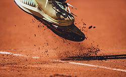09.09.2020, Sportpark, Kitzbühel, AUT, ATP Tour, Generali Open Kitzbühel, 1. Runde, im Bild Schuhe Philipp Kohlschreiber (GER) // Schoes of Philipp Kohlschreiber of Germany during the 1st round of the Generali Open Tennis Tournament of the ATP Tour at the Sportpark in Kitzbühel, Austria on 2020/09/09. EXPA Pictures © 2020, PhotoCredit: EXPA/ JFK